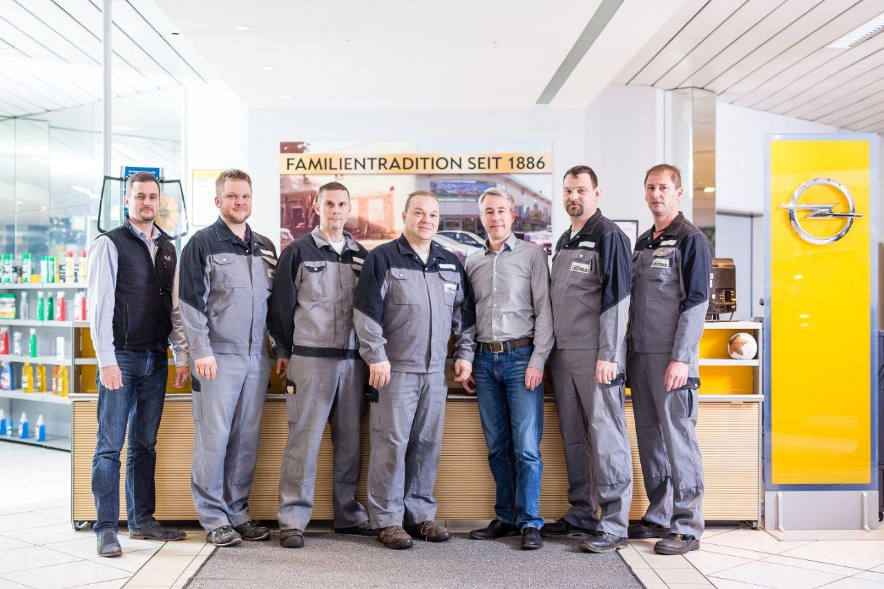 Ausbildung Service - Team
